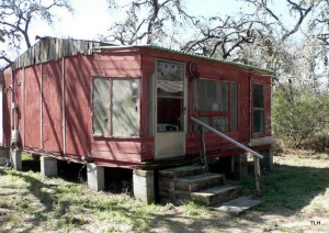 Photo of hunting cabin in Texas