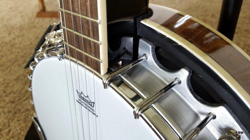 Photo of beginner banjo, illustrating banjo update